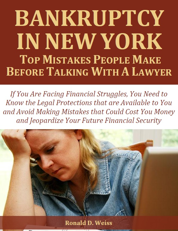 Bankruptcy in New York Top Mistakes People Make Before Talking with a Lawyer