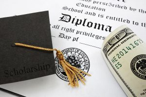 Diploma And Cash